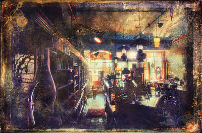 Digital Art - Inside Antique Store Two by Anna Louise