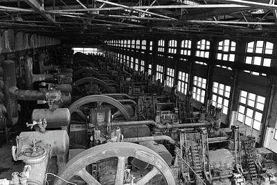 Photograph - Inside Bethlehem Steel by Jennifer Ancker