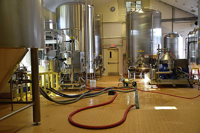 Photograph - Inside Brewery Omme Gang by Mike Martin