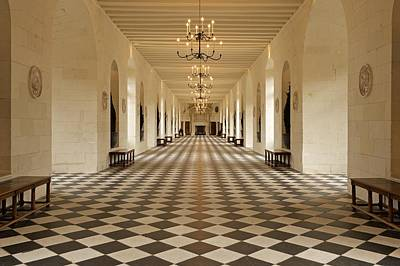 Photograph - Inside Chenonceau by Stephen Taylor