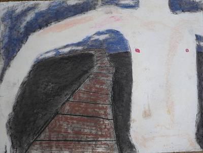 Boy Drawing - Inside by Christopher Pekarik
