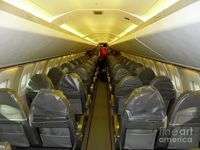 Photograph - Inside Concorde by Rod Jones