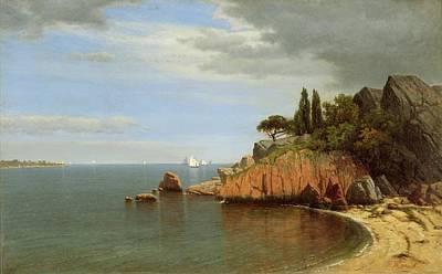 Eastern Point Painting - Inside Eastern Point by James Renwick Brevoort