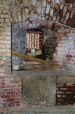 Photograph - Inside Fort Zachary Taylor by Bob Slitzan