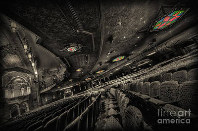 Inside Fox Theater Art Print