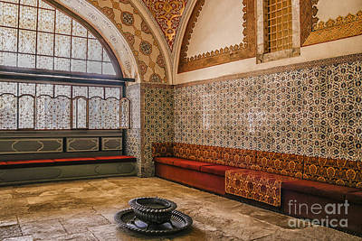Inside Harem Of Topkapi Art Print by Patricia Hofmeester