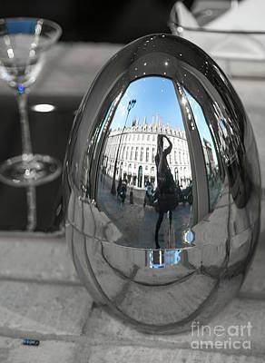 Photograph - Inside Huge French Egg by Alexandra Art