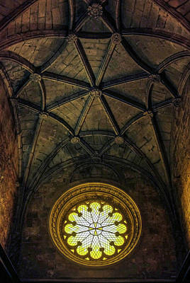 Photograph - Inside Jeronimos by Carlos Caetano