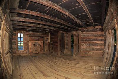 Photograph - Inside John Oliver's Cabin  by Gene Berkenbile