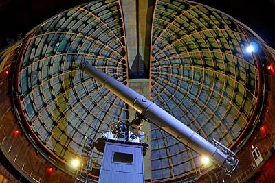 Photograph - Inside Lick Observatory by KJ Swan