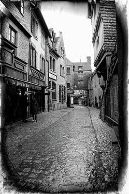 Photograph - Inside Mont St. Michel by Hugh Smith