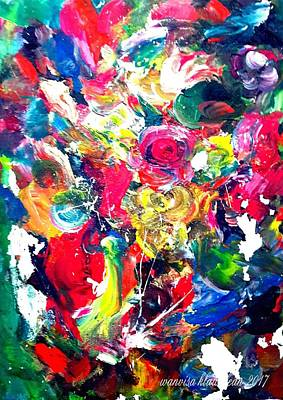 Painting - Inside My Mind 3 by Wanvisa Klawklean