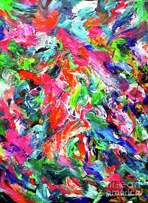 Painting - Inside My Mind by Wanvisa Klawklean