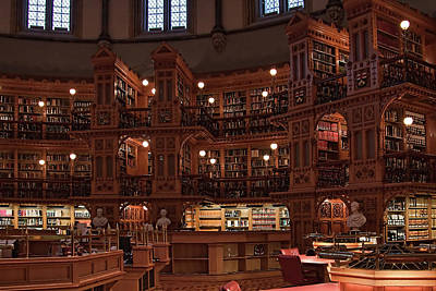 Photograph - Inside The Library Of The Parliament, Ottawa by Tatiana Travelways