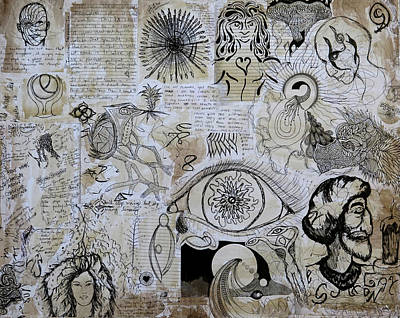Mixed Media - Inside Out 2 by Roger Hanson
