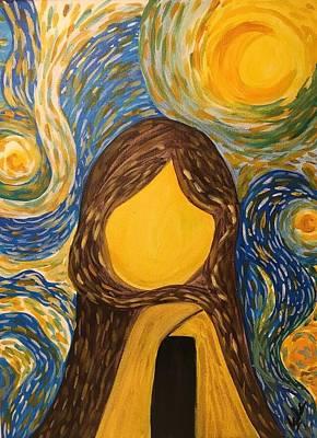 Inside Out Art Print by Alia K Metref