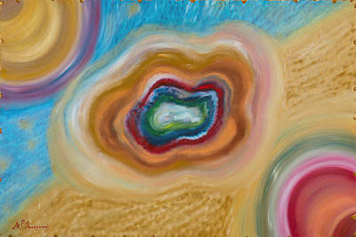 Painting - Inside - Out Love Cloud by MarBak Treasures Mary P Bakogiannis