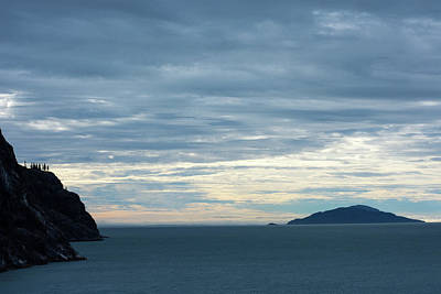 Photograph - Inside Passage Sunset by Allen Carroll