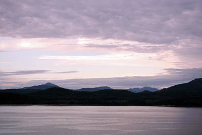 Photograph - Inside Passage Twilight by Connie Fox