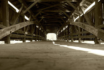 Photograph - Inside Perrine's Bridge by Jeff Severson