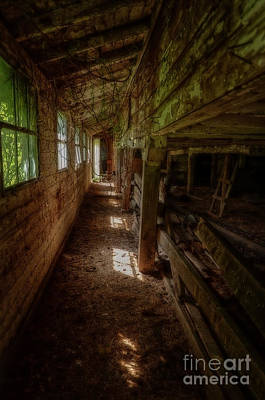 Photograph - Inside The Barn by Debra Fedchin