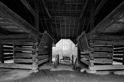 Photograph - Inside The Barn by Steven Ainsworth