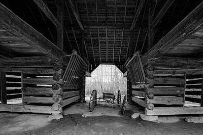 Photograph - Inside The Barn by Steven Ainsworth