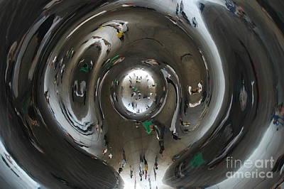 Inside The Bean Art Print by Miguel Celis