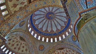 Photograph - Inside The Blue Mosque by Lisa Dunn