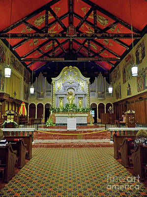 Photograph - Inside The Cathedral Basilica by D Hackett