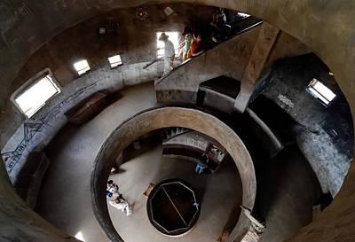 Photograph - Inside The Desert View Watchtower by Julie Niemela