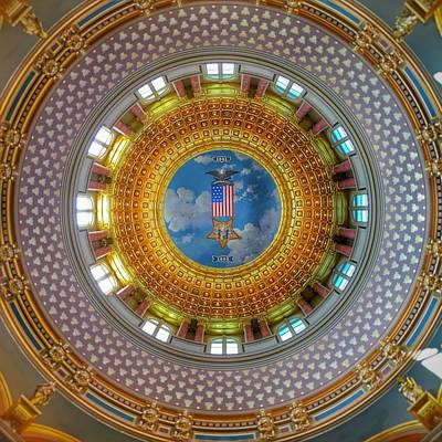 Photograph - Inside The Dome by Jame Hayes