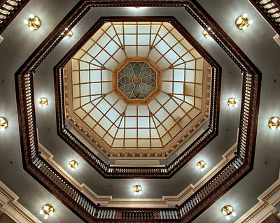 Inside The Dome Art Print by Mark Dodd