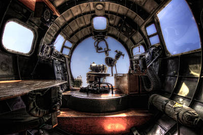 Inside The Flying Fortress Art Print