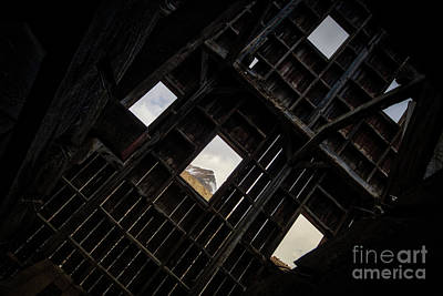 Photograph - Inside The Frisco Mill by Doug Sturgess