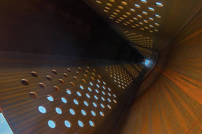 Photograph - Inside The Ibcc Spire by Gary Eason