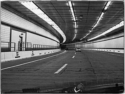 Photograph - Inside The Liberty Tunnel by Mike Martin