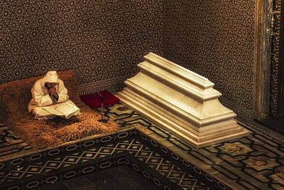 Inside The Mausoleum Of Mohammed V Art Print