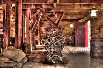 Photograph - Inside The Mill by Marla Craven