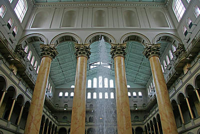 Inside The National Building Museum Art Print