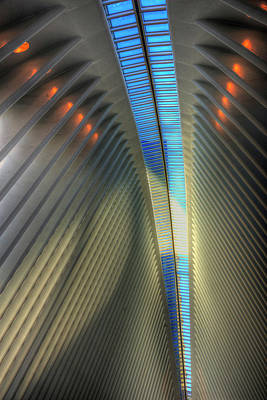 Photograph - Inside The Oculus by Paul Wear