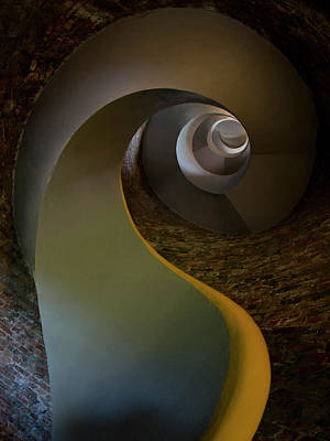 Photograph - Inside The Old Lighthouse by Jaroslaw Blaminsky