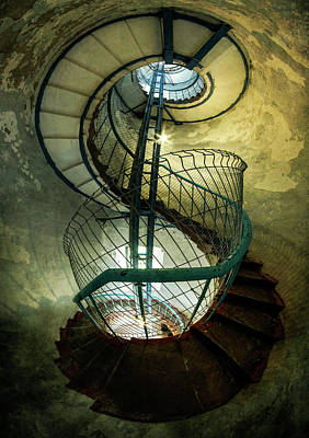 Photograph - Inside The Old Tower by Jaroslaw Blaminsky