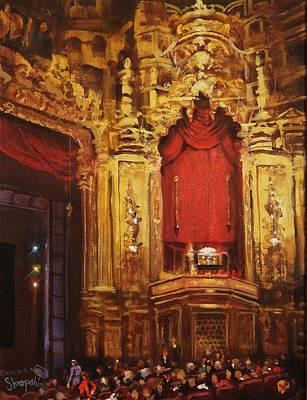 Inside The Oriental Theater Chicago Original