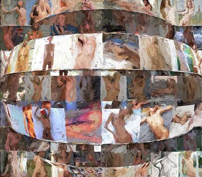 Inside The Seraglio #17 Art Print