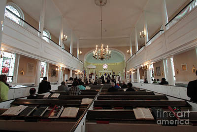 Photograph - Inside The St. Georges Episcopal Anglican Church by Steven Spak