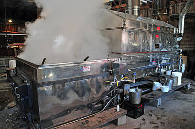 Inside The Sugar House Art Print by Mike Martin