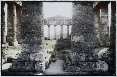 Photograph - Inside The Temple by John Meader