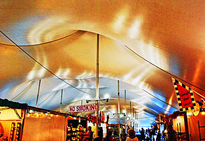 Photograph - Inside The Tent. by Bill Jonscher