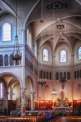 Photograph - Inside The The Largest Wooden Church In N. America by Tatiana Travelways
